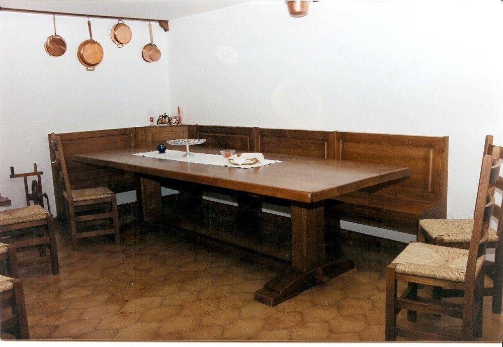 Tavolo taverna - Falegnameria Avoledo